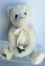 Merrythought LE Bear DIANA White Mohair #828/2500, no box or papers