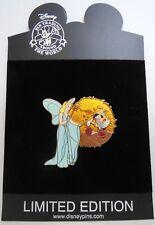 Disney Shopping Blue Fairy & Pinocchio Movie Series LE 250 Pin
