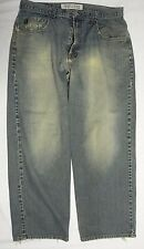 Guess Distressed Jeans Vtg Coupe Cut Dirty Look 36 x 30
