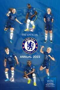 The Official Chelsea FC Annual 2022 By David Antill - Hardback