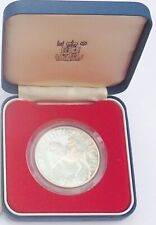 925 Sterling Silver 1977 Silver Jubilee Crown Boxed Proof Coin
