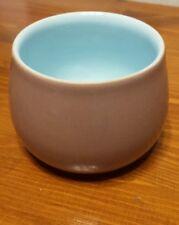 Vintage Denby Langley Lucerne brown and blue sugar bowl