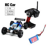 WLtoys A959 1:18 Scale 2.4G 4WD RC Car High Speed Off-road Crawler Truck Gift