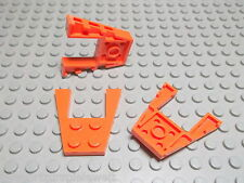 Lego 4 Flügelplatten 4x4 orange    43719  Set 60011 8969 60015 4508