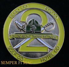2ND RTBN ECHO FOX GOLD HOTEL COMPANY US MARINES PIN MCRD GRADUATION GIFT MR 2296