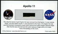 Apollo 11 Own a Genuine Piece of the Lunar Module, Eagle - Just $19.95 w/COA