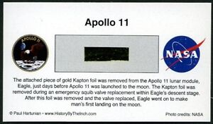 Apollo 11 Own a Genuine Piece of the Lunar Module, Eagle - Just $19.95 w/COA