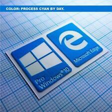 Windows 10 Pro Sticker Set Aufkleber Luminoscent 250 minutes of self ilumination