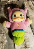 CLASSIC PLAYSKOOL LULLABY GLOWORM--PINK AND GREEN p2
