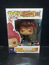 Funko POP! NIB Games Street Fighter Gamestop AKUMA #203