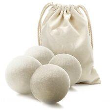 Bramble Premium Hypoallergenic Wool Tumble Dryer Balls  Reusable, Static reduci