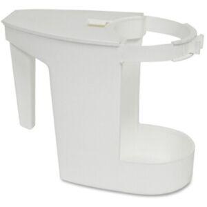 Toilet Bowl Mop Caddy, 1 - EACH, White GJO85121