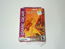 DISNEY'S THE LION KING Sega Game Gear videogame brand new factory sealed
