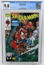 Spider-Man #5 (1990) CGC Graded 9.8 Wh Pages Todd McFarlane Marvel Comics