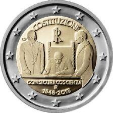 2 Euro - Italy 2018 - CONSTITUTION - UNC
