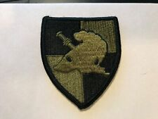US Army Military Academy West Point USMA Cadre OD Green patch