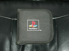 CONTENITORE PER GIOCHI PS1 O PS2 CON RICAMO LOGO PLAYSTATION - RARO!!!
