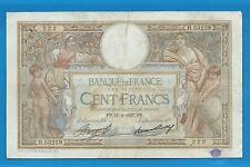 GERTROLEN  Billet 100 FRANCS  Luc Olivier Merson 11-12-1937  H.53259