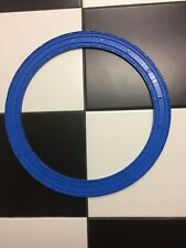 Set of 16pc 4inch Curved Blue Train Tracks