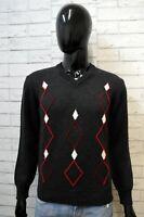 FABIO D Maglione Uomo Taglia S Pullover Lana Felpa Sweater Man Cardigan Vintage