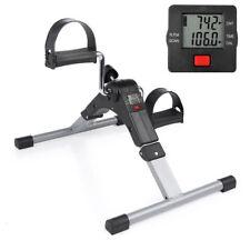 Exercise Bikes Digital Pedal Arm Leg Aid Mini Folding Fitness Mobility Exerciser