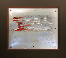 """Sica """"Morocco"""" Signed and Numbered Collagraph Artwork, metallic, Make Offer!"""