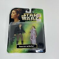 Star Wars Princess Leia Collection With Han Solo Action Figure Vintage Kenner