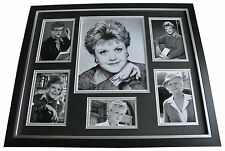 Angela Lansbury SIGNED FRAMED Photo Autograph Huge display Murder she Wrote COA