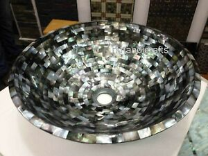18 Inches Marble Wash Basin Sink Elegant Look Stone sink for Kitchen Accessories