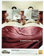 Publicité Advertising 049  2008   Renault  la Clio break Estate