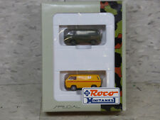 NEW Roco Minitanks / Herpa  Special German VW Type 2 Van Set Lot #928K
