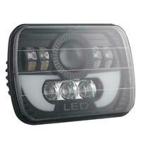 "300W LED Projector Headlight Hi-Lo Beam Halo DRL 7x6"" 5X7"" For Jeep Cherokee tus"
