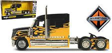 International Lonestar, Pull Back Black/Yellow, maisto Car Model 1:64