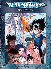 Yu Yu Hakusho: Dark Tournament Saga - Vol. 14: No Return (DVD, 2003, Unedited)