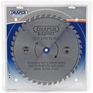 Draper Expert Circular TCT Saw Blade 315mm x 30mm x 40T 40 Tooth 09494