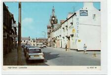 HIGH STREET, LOCKERBIE: Dumfriesshire postcard (30060)