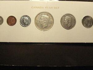 1952 Canada mint set