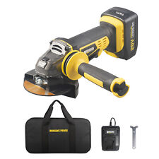 Morgans Cordless Angle Grinder with 3Ah 20V MAX Battery, Charger & Cutting Disc