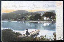 Germany~1905 Stiftsmuehle u. Stift Neuburg ~ Canoe~Boot