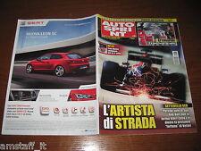 AUTOSPRINT 2013/38=GP F.1 SINGAPORE=SEB VETTEL E 7!!!PUBBLICITA' SEAT LEON=