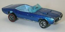 Redline Hotwheels Blue 1968 Custom Firebird Blue Interior oc8016