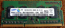 NOTEBOOK Laptop Tablet RAM 1GB SAMSUNG M471B2874EH1 CH9 PC3 10600S-09-10-A1 b7t9