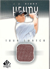 2001 SP Authentic Tour Swatch JJ-TS JJ HENRY