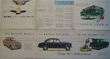 Morris Isis Saloon & Traveller 1955-56 Original UK Market Foldout Brochure 5543