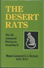 The Desert Rats: The 7th Armored Division in World War II by G.L. Virney