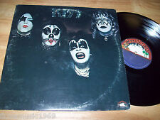 1974 KISS NEAR MINT 12 inch LP vinyl Casablanca NBLP 7001 Cold Gin Black Diamond