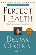 PERFECT HEALTH by Deepak Chopra paperback book FREE SHIPPING mind body md