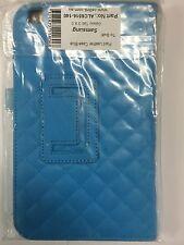 Samsung Galaxy Tab 3 8.0 Plaid Leather Case Aqua ALC6516-140 Brand New Original