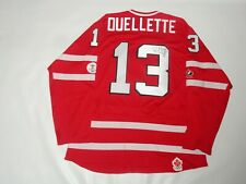 CAROLINE OUELLETTE SIGNED TEAM CANADA 2010 OLYMPIC HOCKEY JERSEY PROOF PSA COA