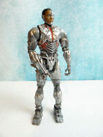 "2017 DC Comics Justice League Cyborg 6"" Poseable Action Figure Loose"